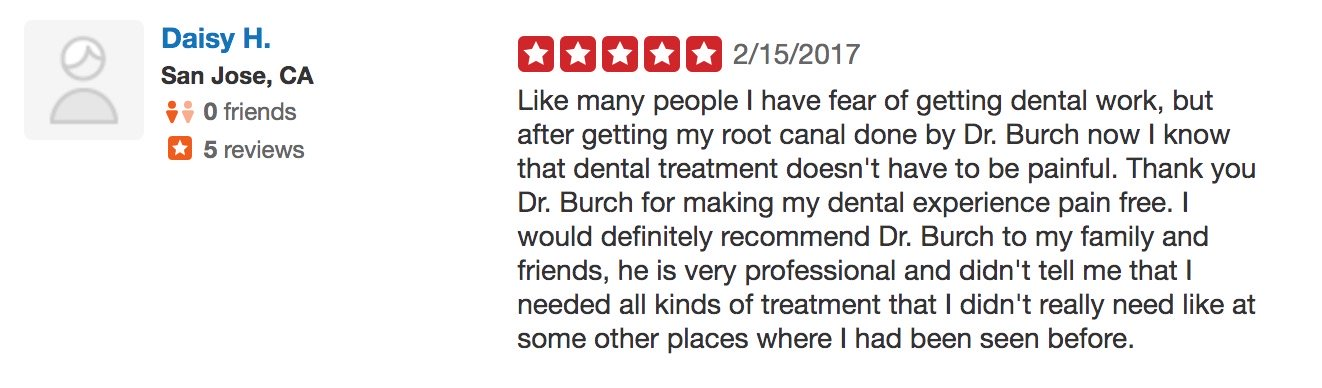 Dr. Burch Review
